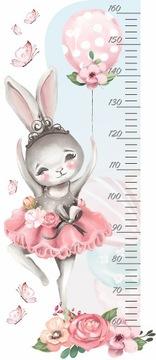 HEIGHT RULER стикер стены кролик воздушный шар