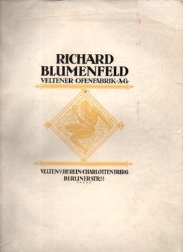 32164 Изразцовые печи от Blumenfeld.Ofenfabrik