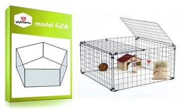 Клетка для морских свинок CHINCHILLA G2