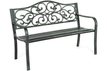 Скамейка металлическая кованая, прочная и прочная конструкция