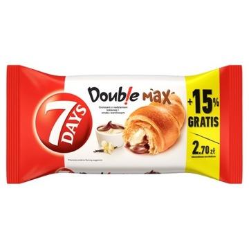 7 Days Double Max Croissant какао-ваниль 110г