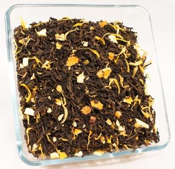 Красный чай PU-ERH ORANGE 100g SLIMMING OUT