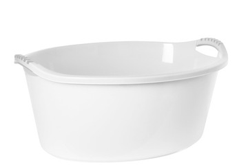 Plast Team большая чаша, ванна 60л белая