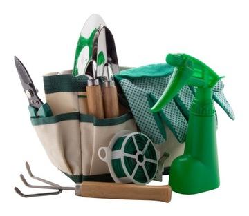 Botanic, набор из 7 садовых инструментов с сумкой