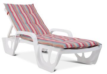 Полосатая подушка для кушетки FLORIDA для шезлонга 564-02