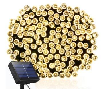 Solar Garland 100 LED 12 метров до сада
