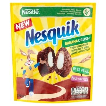 Nestle Nesquik Banana Crush Сухие завтраки 350г