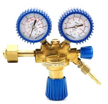 Кислородно-кислородный регулятор с запорным клапаном