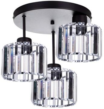 Стеклянный потолочный подвесной светильник Люстра LED Plafond