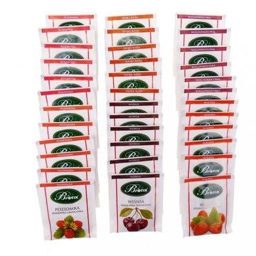 Чайный сервиз Biofix 6 фруктовых чаев 36 шт по 2 г