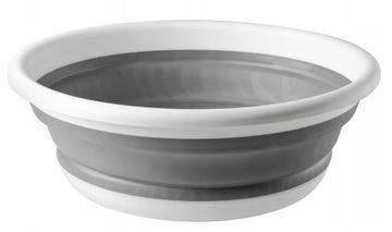 Складная силиконовая чаша, контейнер 9л