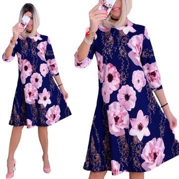 Duze Rozmiary Sukienka Wesele W Sukienki Wieczorowe Moda Damska Na Allegro Pl