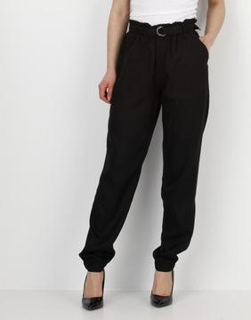 RESERVED Spodnie damskie z paskiem r. 38