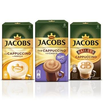 Растворимый кофе Jacobs в пакетиках SET