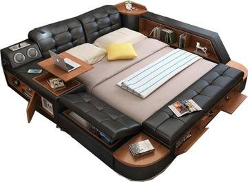 Многофункциональная кровать 180x200 BLUETOOTH USB