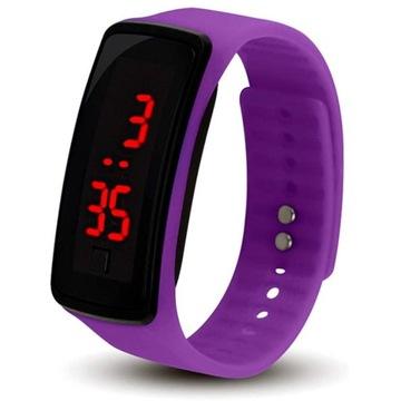Zegarek Silikonowy Led Niska Cena Na Allegro Pl