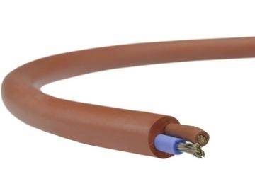 кабель силиконовый провод SIHF 2x0,75 мм2 сауна