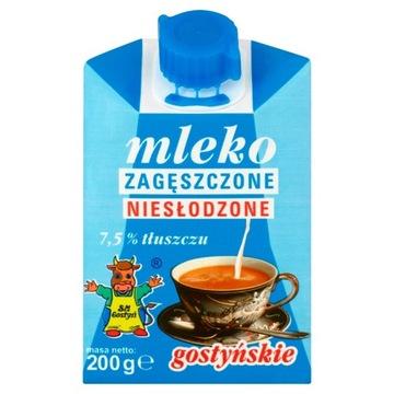 SM Gostyń Концентрированное гостинское молоко 7,5% 200 г