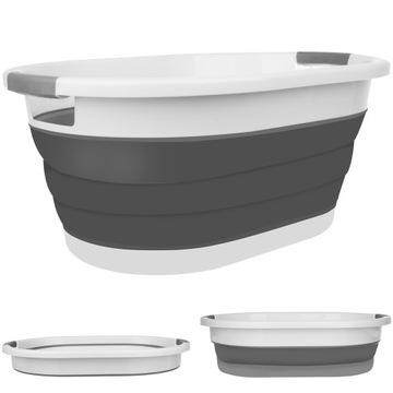 Силиконовая корзина для белья со сложенной чашей ISO TRADE