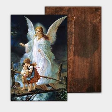 Икона Ангел Хранитель 14 х 21 см П. Крещение причастия