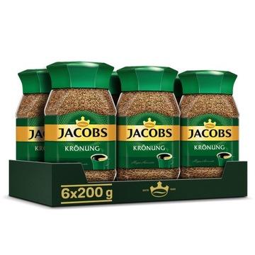 Кофе растворимый Jacobs Kronung 6x200 г