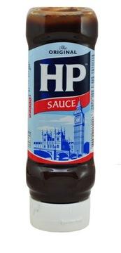 Британский оригинальный соус HP, сверху вниз 450 г HP
