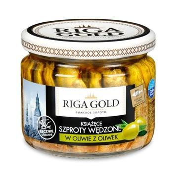 Riga Gold Księce Килька копченная в оливковом масле 270г
