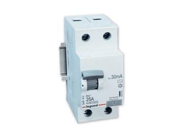 Автоматический выключатель дифференциального тока LEGRAND 2P 25A RX3