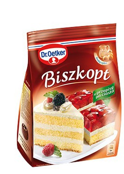 Бисквитный торт 400г Dr.Oetker