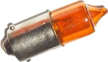 Купить Мини-лампочка для индикаторов 12V 23W BA9S желтая на Otpravka - цены и фото - доставка из Польши и стран Европы в Украину.