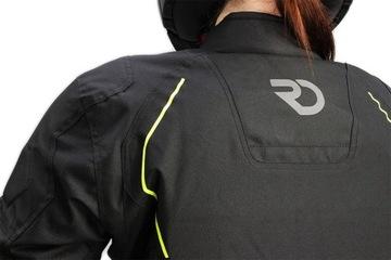 Кожанная куртка мотоциклетная женская lady sportowa, фото 7