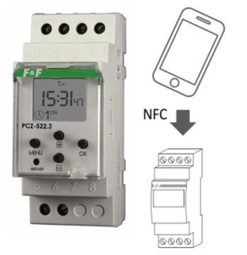Программируемые еженедельные контрольные часы PCZ-522