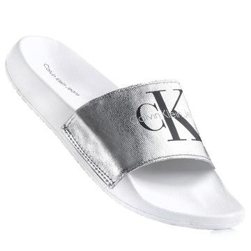 Klapki Damskie Calvin Klein Allegro Pl
