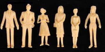 Фигурки людей для макета H0 1:87 под роспись