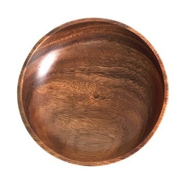1шт деревянная салатница для домашней кухни
