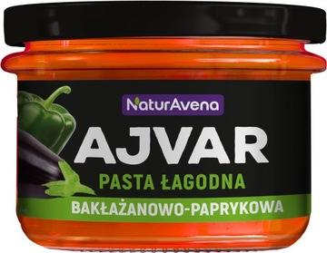 NaturAvena Ajvar Нежный баклажан и перец