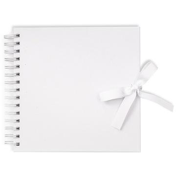 Альбом, основа для декора - белая, 20 х 20 см