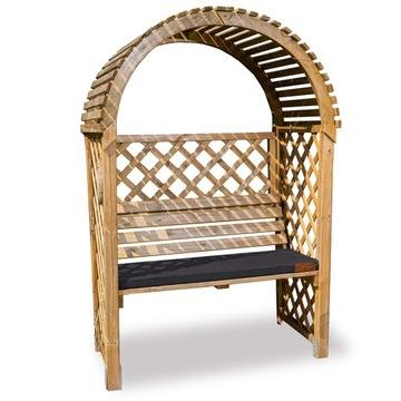 Подушка для садовой скамейки 120x40 водонепроницаемая