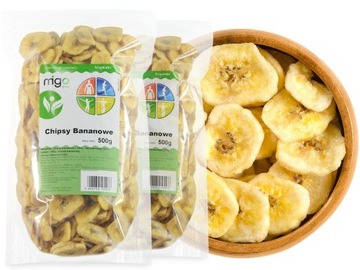 BANANA чипсы 1кг, сушеный банан - MIGOgroup