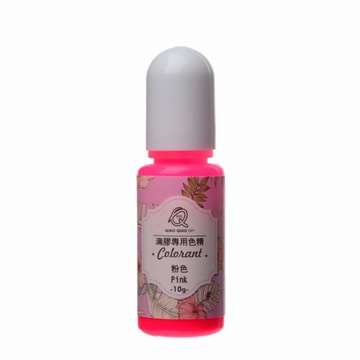pig23 Пигмент для смол прозрачный 10г - розовый