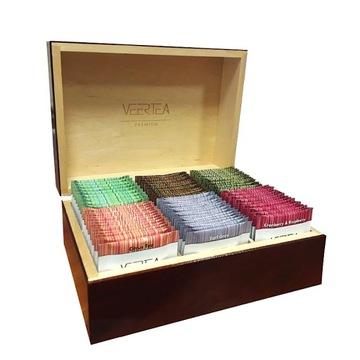 Набор чайный VEERTEA, коробка 96 шт. В подарок