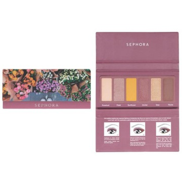 Sephora #EYESTORIES paleta 6 cieni Fresh Florals