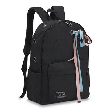 Plecak damski miejski sportowy podróżny na laptopa