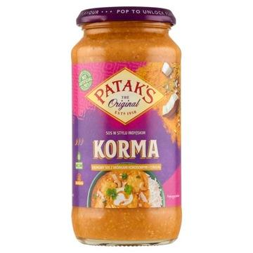 Сливочный кокосово-луковый соус Patak's Korma 450 г