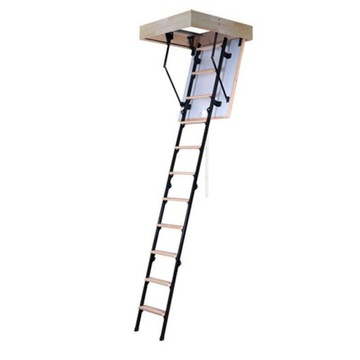 Утепленная лестница-чердак Step Micro 80x60