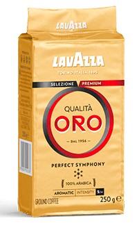 ИТАЛЬЯНСКАЯ Lavazza Qualita Oro 250г молотая Арабика
