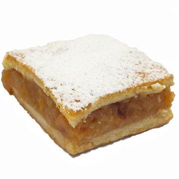 Традиционный яблочный пирог на песочном тесте