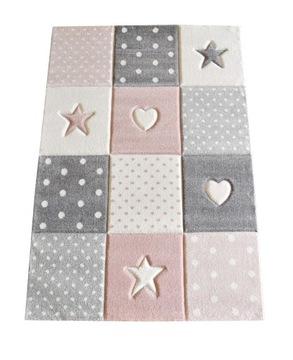 Детский коврик Kids 3D 160x230 Stars розовый