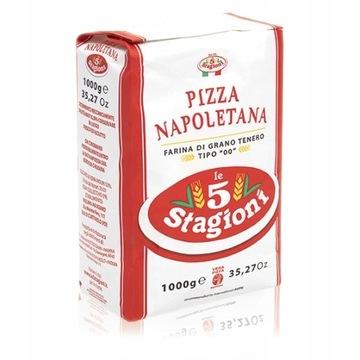 Пицца Наполетана из муки сорт 00 1 кг 5 СТАГИОНИ