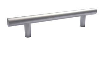 Мебельная ручка перила Silver 150 / 96мм + винты